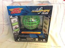 Air Hogs Atmosphere Axis Hovers Above Your Hand Green & Gray NIP