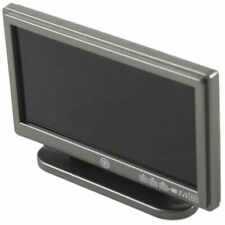 FP Dollhouse Miniature Widescreen Flat Panel LCD TV with Remote Gray