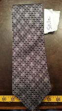 Signorcelli Black Yellow Square Silk Designer Mens Tie Necktie Free Shipping