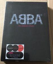 SEALED Abba - Number Ones 2x Cd + Dvd +Extras Mamma Mia Waterloo Agnetha Frida