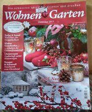 Wohnen und Garten Dezember 2011