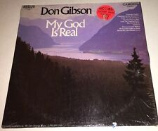 Don Gibson. My God Is Real Gospel LP  22G