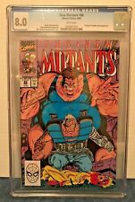NEW MUTANTS 88 CGC 8.0 WP 2ND APP. CABLE. X-FACTOR & FREEDOM FORCE APP.