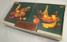 Sealed Box of Pimpernel Gayeties Celluware Table Mats Kitsch / Tropical