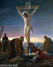 Jesus Christ on Cross / Christian - Christianity 8 x 10 GLOSSY Photo Picture