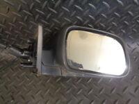 2004 PEUGEOT 307 1.4 16V Zest 5DR DRIVER SIDE WING MIRROR BLACK