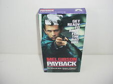 Payback Screening Copy Promo VHS Video Tape Movie Mel Gibson