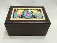 Dance Of The Sugar Plum Fairy Music Box 1981 By Franklin Mint-Holiday Line #317