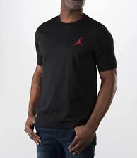 Men's Sz Large Nike Jordan Core Short Sleeve Long T-shirt 749475 010 Black/Red