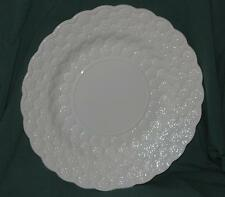 "Spode - Serving Platter / Chop Plate - Embossed Daisey Pattern - 13"" White"