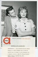 RHONDA FLEMING PRETTY GARY LOCKWOOD PORTRAIT FOLLOW THE SUN 1962 ABC TV PHOTO