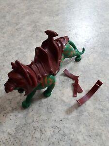 Musclor He Man Jouet Vintage Battle Cat Cassé