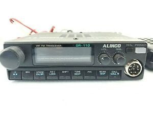 Alinco DR-110T VHF FM Radio Transceiver W/ Microphone AS-IS