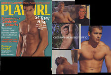 PLAYGIRL 4-00 APRIL 2000 GEORGE CLOONEY RAW PETER STEELE 2 R GERE STALLONE NUDE!