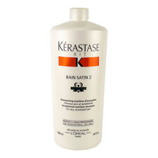 Kerastase Nutritive Bain Satin 2 Complete Nutrition Shampoo (For Dry & 1000ml