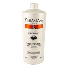 Kerastase Nutritive Bain Satin 2 Complete Nutrition Shampoo (For Dry & 1000ml