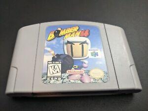 Bomberman 64 Bombardero Man Nintendo 64 N64 Auténtico Nrmt Estado Juego Cartucho