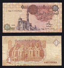 1 pound Central Bank of Egypt  BB-/VF-  //