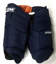New CCM Gatekeeper Pro Stock ice hockey goalie pants navy senior XL 36 38 large