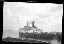 "Steamship Ferry ""Provincetown"" Harbor BOSTON MA Photo Negative 32"