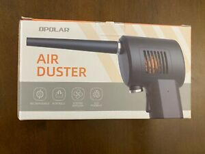 OPOLAR Cordless Air Duster, Powerful 33000RPM, Rechargeable 6000mAh Battery, NEW
