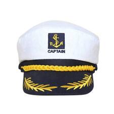 Unisex Skipper Ship Sailor Navy Yacht Capitano militare Cap cappello nautico CH