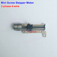 DC 5V 2-phase 4-wire Mini Stepper Motor Micro linear Screw Shaft Position Slider