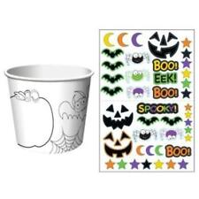 Halloween Kids Activity Treat Cups (6 pack)