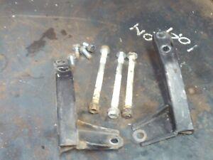 Honda CBR 125 CBR125 Engine frame mounts bolts nuts brackets lower
