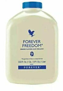 Forever Living Aloe Vera Drinking Gel FOREVER FREEDOM 1 Litre In Packs(1,2,3)