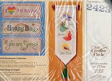 """The Creative Circle #2423 King of Angels Banner Cross Stitch Kit 13"""" X 4 3/4"""""""