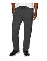 Puma Men's Fleece Sweat Athletic Pants Pockets, Drawstring Medium Gray or Black