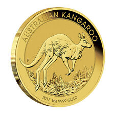 1 oz Gold Känguru 2017 - 100 Dollar Australien Stempelglanz Goldmünze 999,9