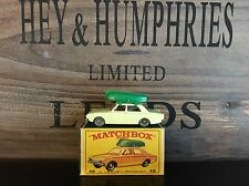 matchbox regular wheels no.45B-1.Very Rare Gray Wheels Version E-Box from 1965