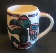 1972 David Lambert Art Pottery Tankard Mug #45 Skookum Sardis Canada HTF
