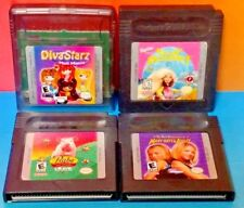 Barbie Babe Diva Mary Kate Nintendo Game Boy Color GB TESTED GBA Advance GBC