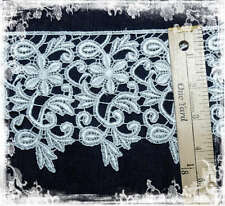 White Venice Lace Trim 2 Yards Wedding, Pageant, Crafts, Decor