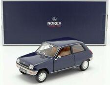 Renault 5 tl 1973 dark blue norev 185134 1/18 metal blue blau lhd r5 5tl
