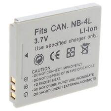 BATTERY FOR CANON NB-4L Digital IXUS 70 75 80 i i7 IXUS 75 65 55 50 40 IXUS130