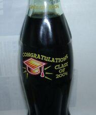 Class of 2004 Graduation Coca-Cola Coke Bottle