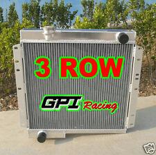 3 ROW Toyota Land Cruiser BJ40 DIESEL BJ42 Aluminum Radiator MT New LandCruiser