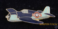 F6F HELLCAT AIRPLANE LAPEL HAT PIN WW 2 US NAVY MARINES USS CAG MAW NAS MCAS