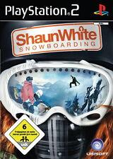 Shaun White Snowboarding (Sony PlayStation 2, 2008, DVD-Box)
