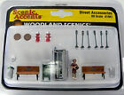 HO Scale Woodland Scenics Street Scenery Accessory Model Railroad Layout 1941