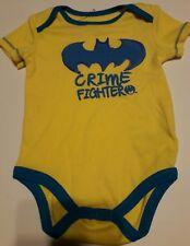 DC Comics Batman Baby One Piece Bodysuit TShirt Crime Fighter 6-9 mos