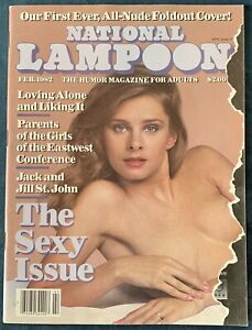 National Lampoon  Feb 1982  The Sexy Issue