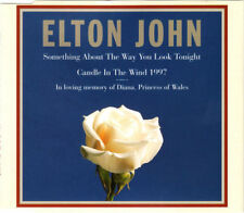 ELTON JOHN CANDLE IN THE WIND 1997 SOMETHING ABOUT THE WAY UK 3 TRACK CD SINGLE