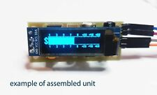 The Digital mini S-meter LCD 128x34. Kit for assembly