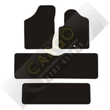 Seat Alhambra Car Mats 7 Seater 95-06 Black Floor Carpet Tailored Mat 3 Row Set