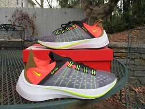 NIKE Men's Running Fitness EXP-X14 Shoes AO1554 Black Total Crimson Size 10 VNDS